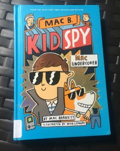 Childrens Book Review, Childrens Book Recommendation, Mac B, Kid Spy Book, simple living, living simply, intentional living